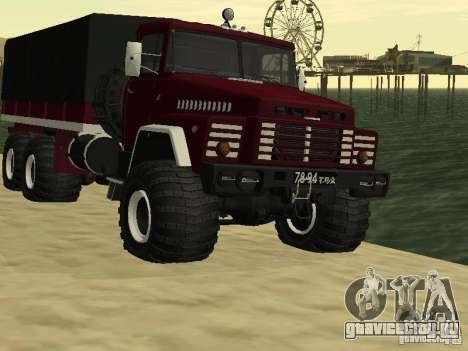 КрАЗ 260 для GTA San Andreas