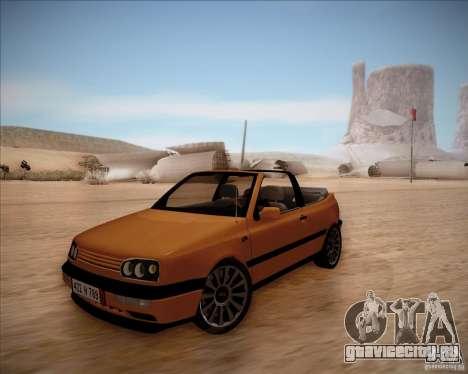 Volkswagen Golf MkIII Cabrio Custom 1995 для GTA San Andreas