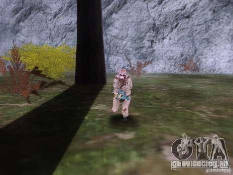 Piggsy on Mount Chilliad для GTA San Andreas четвёртый скриншот