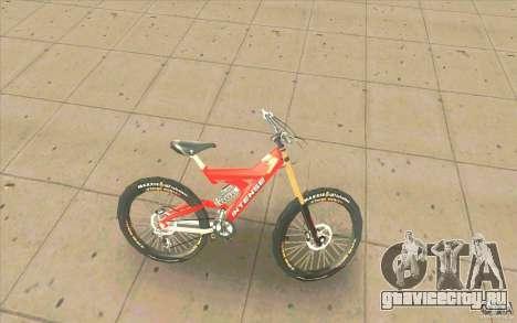 Intense M1 для GTA San Andreas вид слева