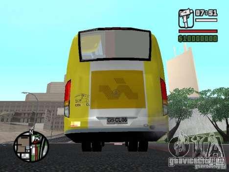 Busscar Vissta Bus для GTA San Andreas вид сзади слева