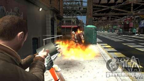 Огнемёт для GTA 4 четвёртый скриншот