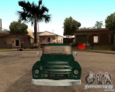 ЗИЛ 130 Fiery Tempe V1.0 для GTA San Andreas вид сзади слева