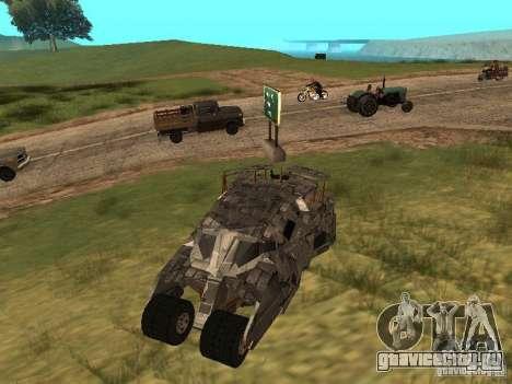 Batman Car для GTA San Andreas