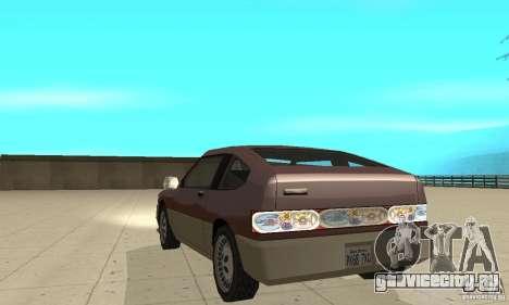 New lights and crash для GTA San Andreas третий скриншот