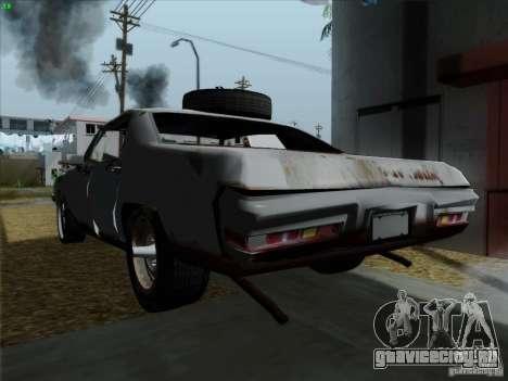 BETOASS car для GTA San Andreas вид сзади слева