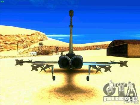 F-5E Tiger для GTA San Andreas вид сзади слева