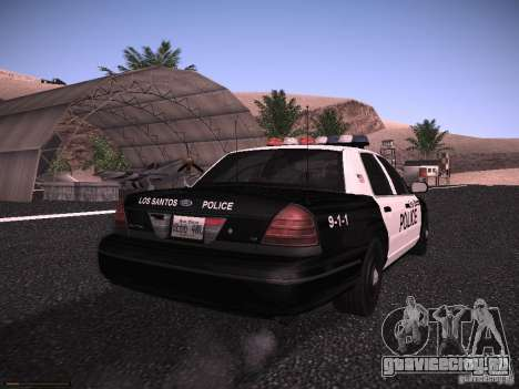 Ford Crown Victoria Police 2003 для GTA San Andreas вид справа