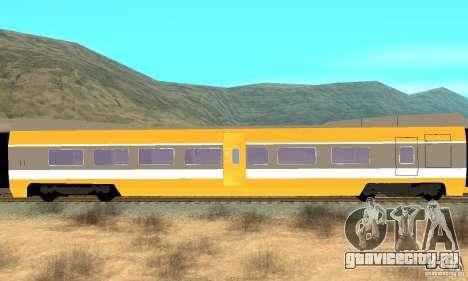 TGV SOUTH WEST для GTA San Andreas вид справа