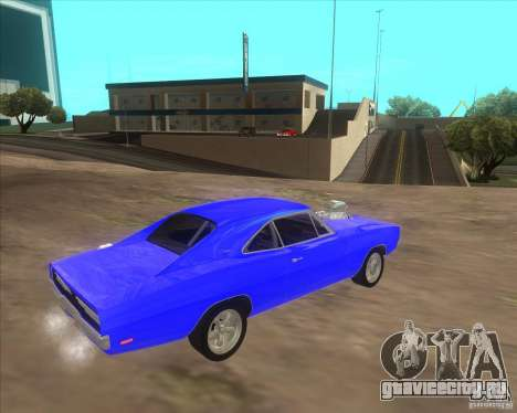 Dodge Charger RT 1970 The Fast and The Furious для GTA San Andreas вид справа