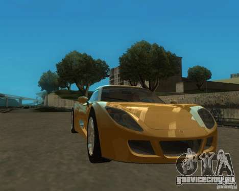 Ginetta F400 для GTA San Andreas вид сзади слева
