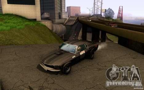 Ford Mustang Boss 302 для GTA San Andreas колёса