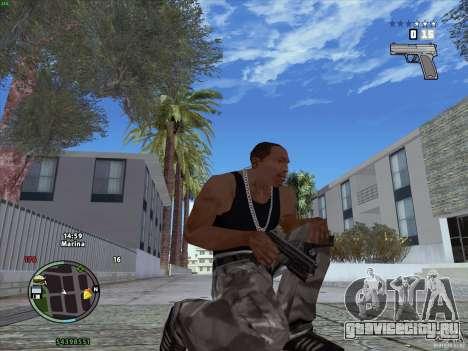 Пак оружия из GTA IV для GTA San Andreas второй скриншот