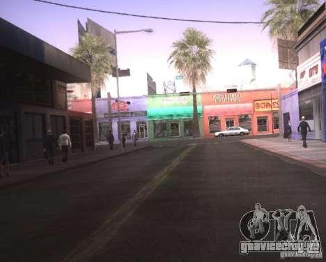 ENBSeries для Ultra Pack Vegetetions для GTA San Andreas второй скриншот