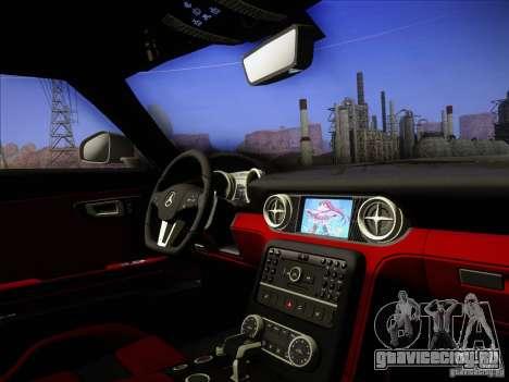 Mercedes-Benz SLS AMG для GTA San Andreas вид сбоку