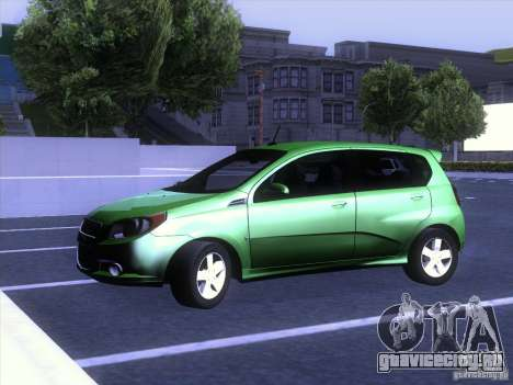 Chevrolet Aveo LT для GTA San Andreas вид справа