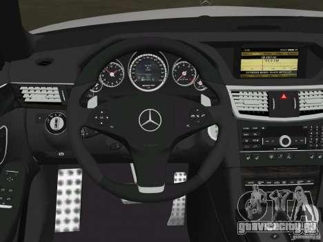 Mercedes-Benz E63 AMG для GTA Vice City колёса