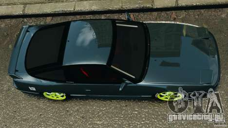 Nissan 240SX JDM для GTA 4 вид сбоку