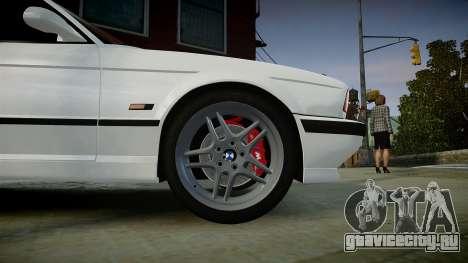 BMW M5 (E34) 1995 v1.0 для GTA 4 вид справа