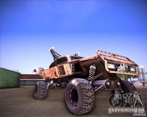 Post Apocalyptic Mayhem sandking для GTA San Andreas вид сзади слева