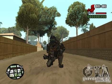 Костюм из игры Dead Space 2 для GTA San Andreas шестой скриншот