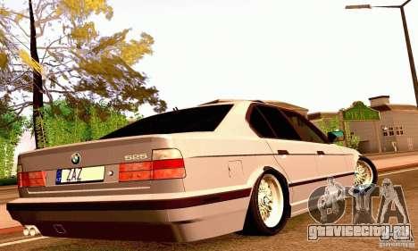 BMW E34 525i для GTA San Andreas вид сбоку
