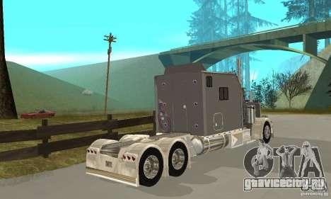 Peterbilt 379 Custom Legacy для GTA San Andreas вид справа