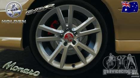 Holden Monaro CV8-R для GTA 4 вид сверху