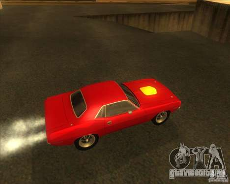 Plymouth Hemi Cuda для GTA San Andreas вид справа