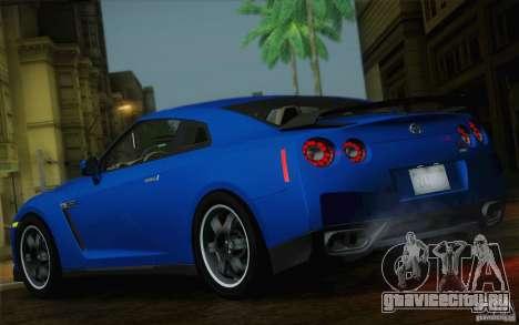 Nissan GTR Egoist для GTA San Andreas вид сзади слева