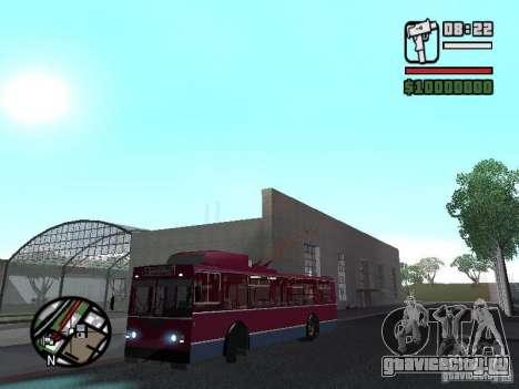 ЗИУ 682ГМ1 для GTA San Andreas вид сзади