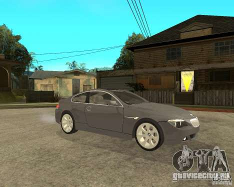 BMW 645Ci 04 для GTA San Andreas вид справа