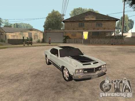 SabreGT из GTA 4 для GTA San Andreas вид слева