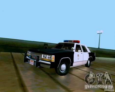 Ford Crown Victoria LTD LAPD 1991 для GTA San Andreas