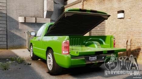 Dodge Ram SRT-10 2006 EPM для GTA 4 вид сбоку