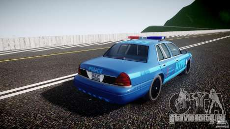 Ford Crown Victoria 2003 Noose v2.1 для GTA 4 вид изнутри