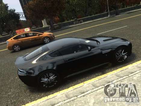 Aston Martin V12 Vantage 2010 V.2.0 для GTA 4 вид слева