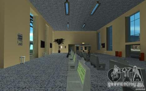 Новый вокзал в Сан фиеро для GTA San Andreas третий скриншот