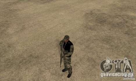 Камуфляжная одежда для GTA San Andreas второй скриншот