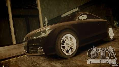 Audi TTS Coupe 2009 для GTA 4
