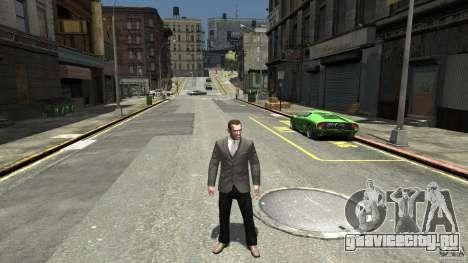 Чёрные джинсы для GTA 4