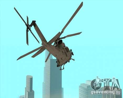 UH-1 Iroquois для GTA San Andreas вид слева
