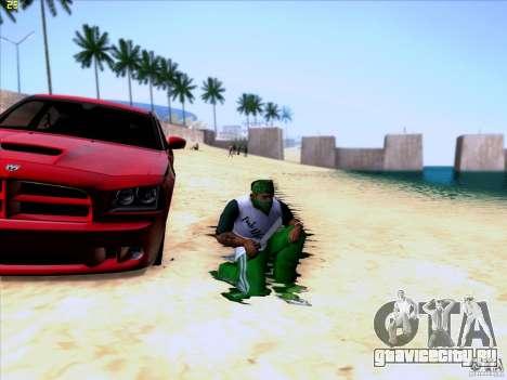 Machete from Far Cry 3 для GTA San Andreas третий скриншот
