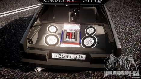ВАЗ 2109 Lada для GTA 4 салон