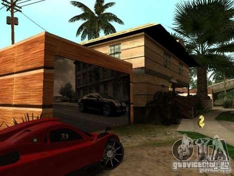 Новый дом CJ для GTA San Andreas четвёртый скриншот