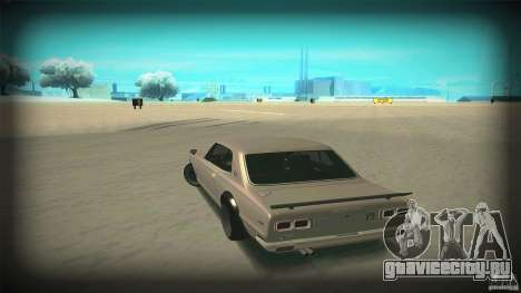 Nissan Skyline 2000GT-R JDM Style для GTA San Andreas вид сверху