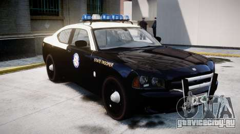Dodge Charger Florida Highway Patrol [ELS] для GTA 4