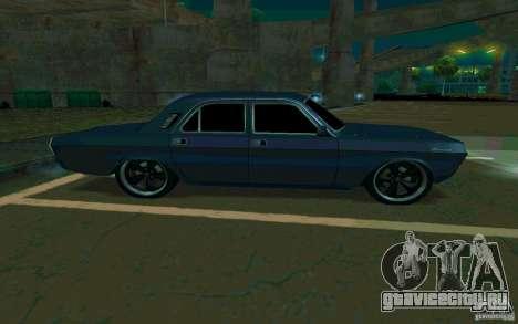 ГАЗ 24 Волга v2 (beta) для GTA San Andreas вид справа