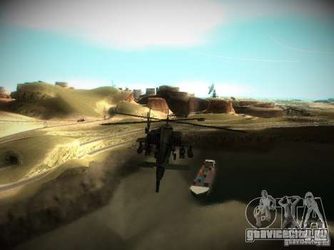 ENBSeries for medium PC для GTA San Andreas третий скриншот