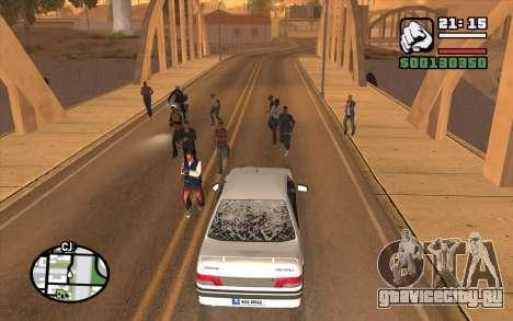 Resident Evil Dead Aim для GTA San Andreas второй скриншот
